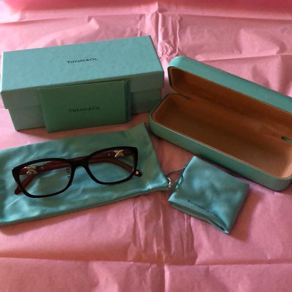 7cb007c53b Tiffany   Co. Eyeglass frames  TF2074 Black   Red.  M 5a8ae1723afbbd5142654ef0